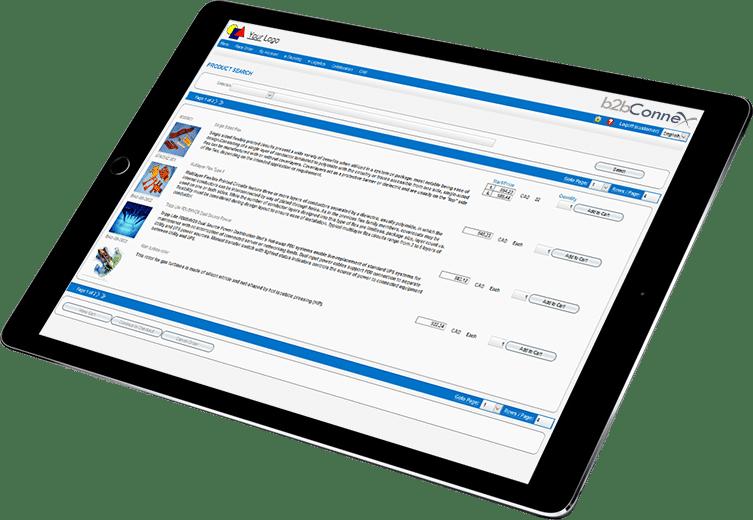 B2B Storefront Portal Software