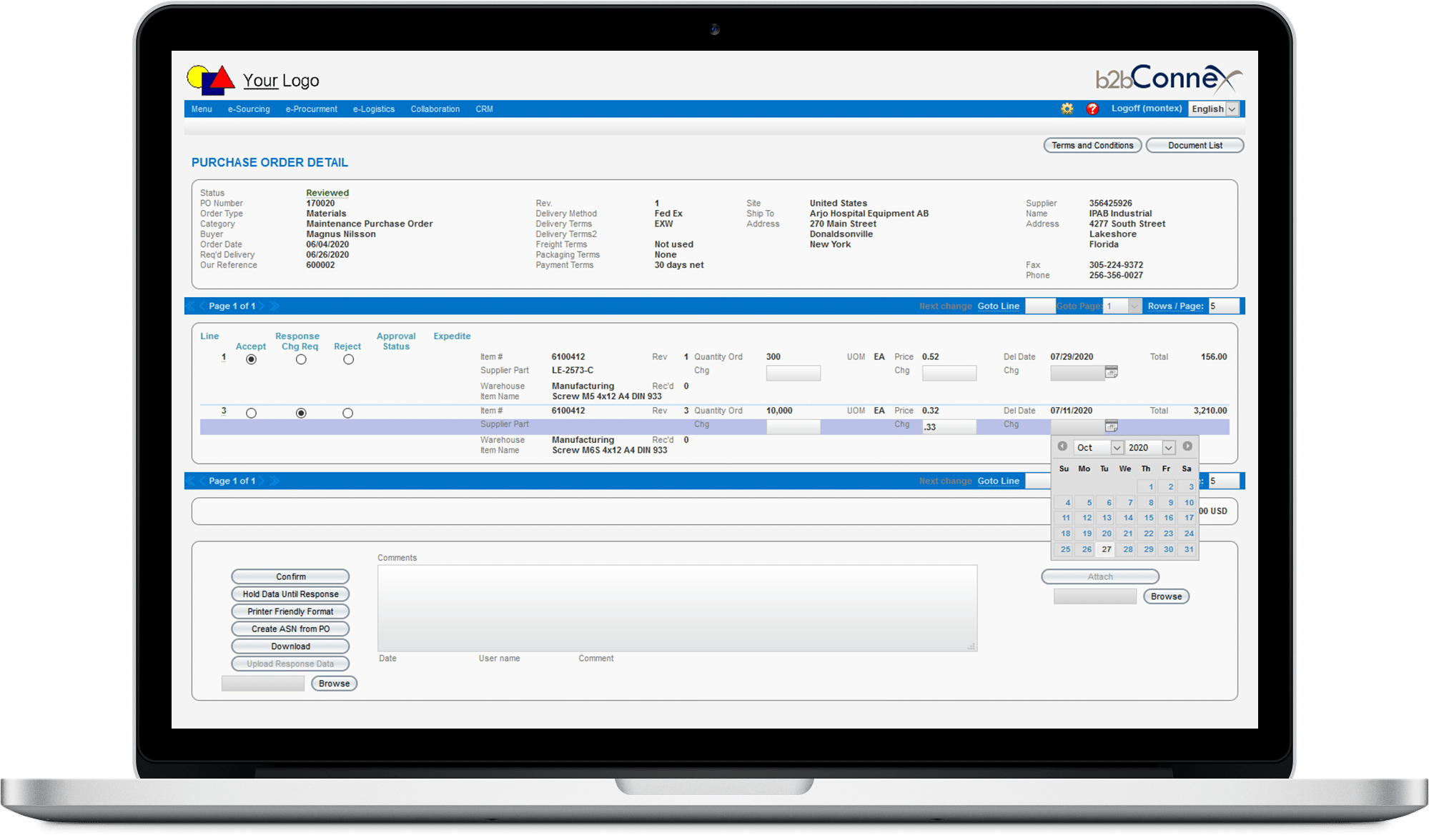 Best MRO/CRM Purchase Portal for Companies